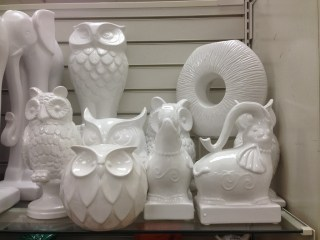 Lady Marielle's Owl Collections