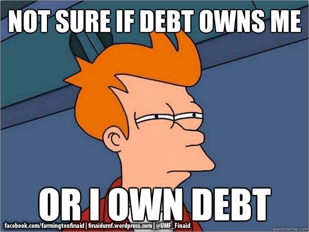 Debt Monster: Facing It!