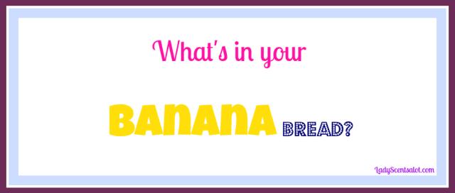 Secret banana bread recipe