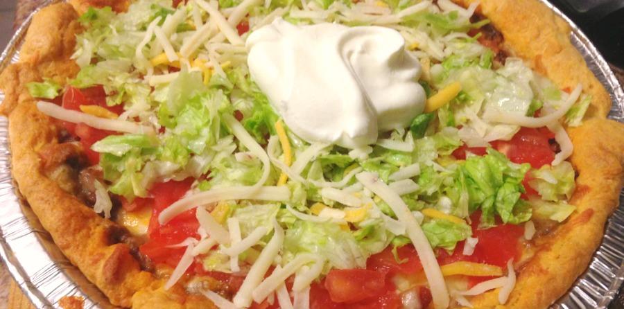 Homemade Taco Pie Recipe