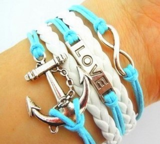 Leather Charm Bracelet From Penny Auctions