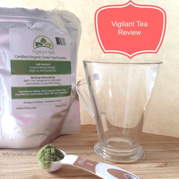 Organic Green Tea Powder Review Giveaway