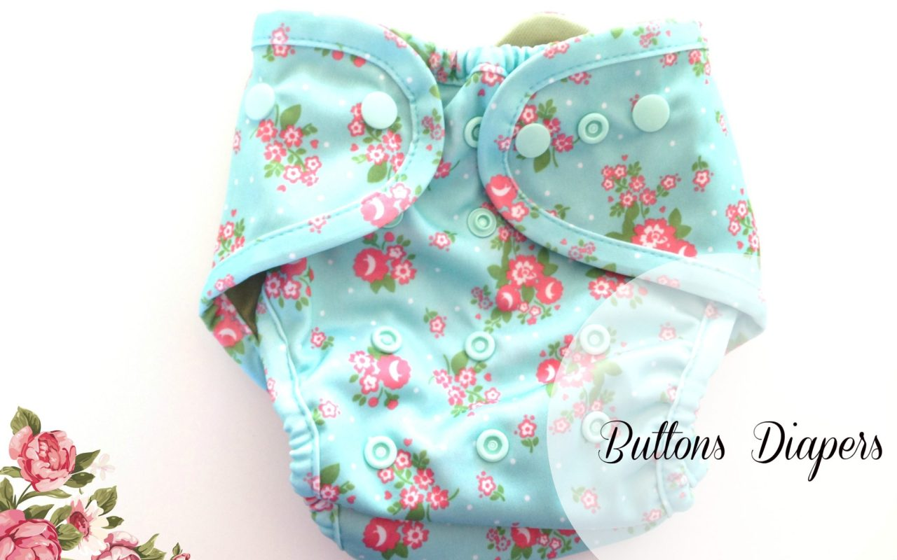 Buttons Cloth Diapers Review With The Little Lady