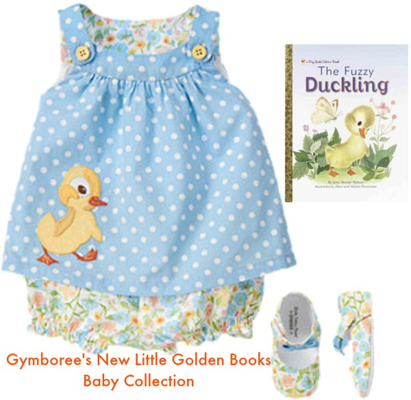 Gymboree's New Little Golden Books Baby Collection