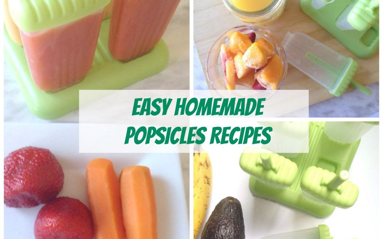 Easy Homemade Popsicles Recipes