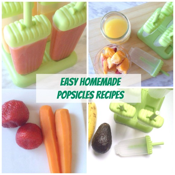 Three Easy Homemade Popsicles Recipes