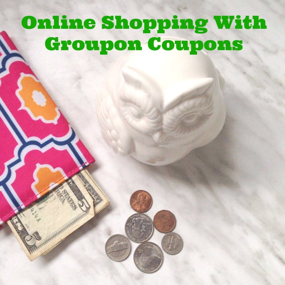 Online Shopping With Groupon Coupons