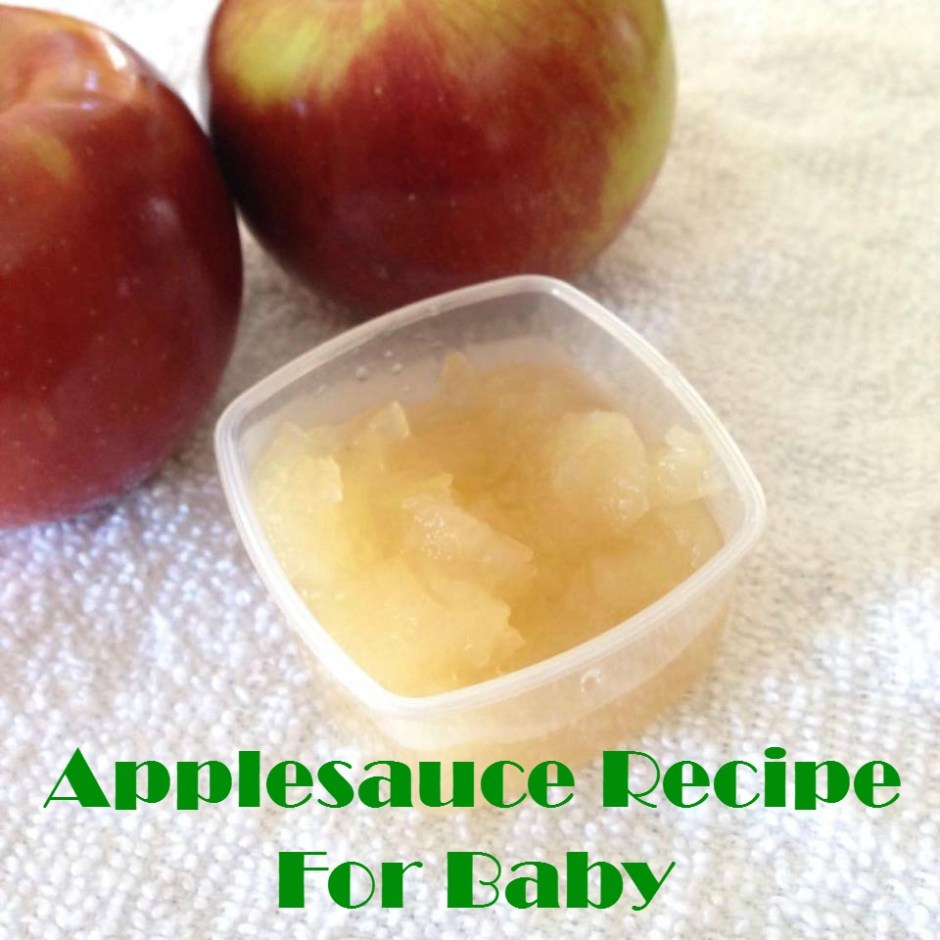 Applesauce Recipe For Baby