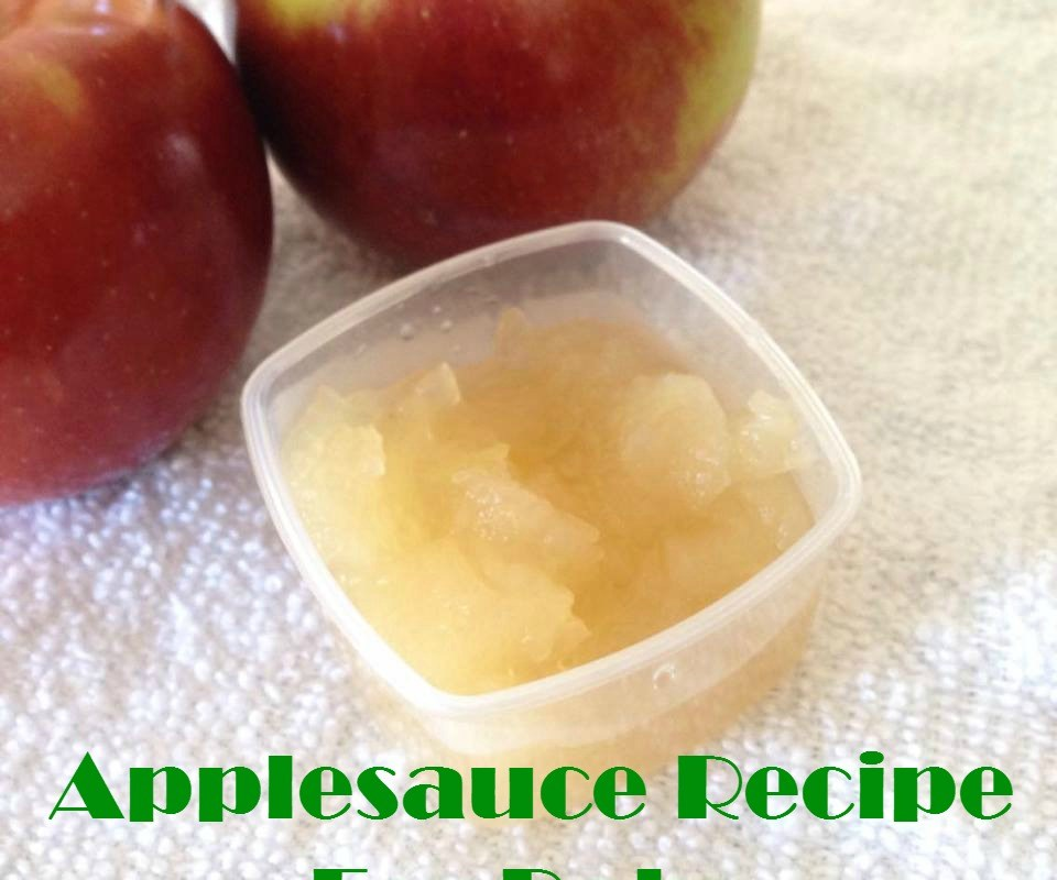 Applesauce Recipe For Baby