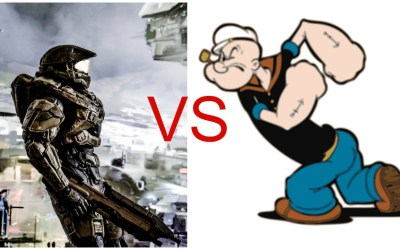 When Master Chief VS Popeye Has You Questioning Your Parenting Skills