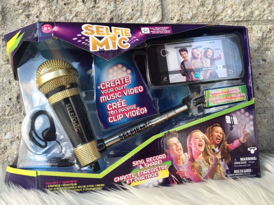 Karaoke like a rock star with the SelfieMic + Giveaway