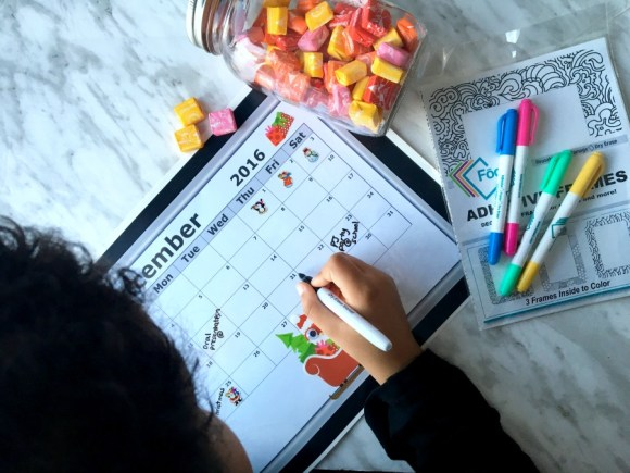 """Diy Last Minute Advent Calendar (For The """"I can be crafty"""" Moms)"""