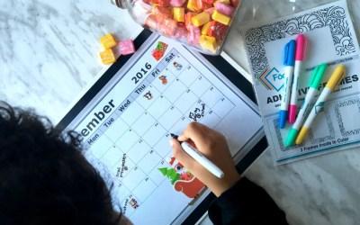 Diy Last Minute Advent Calendar Idea (For The Procrastinating Moms)