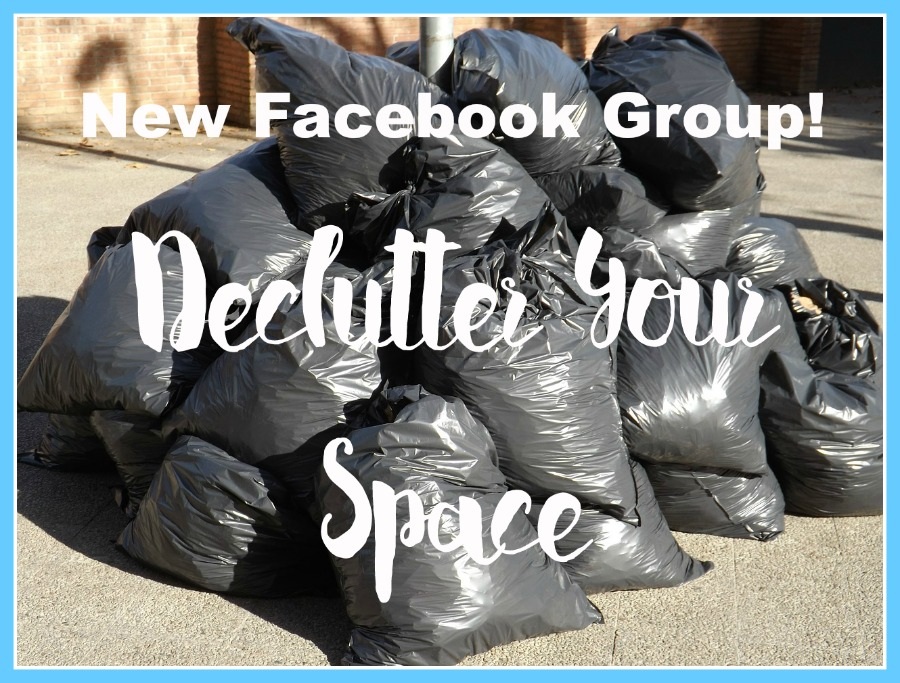 Declutter Your Space With Me: Join The Facebook Group
