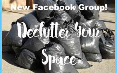 Join this awesome Declutter Your Space Facebook Group