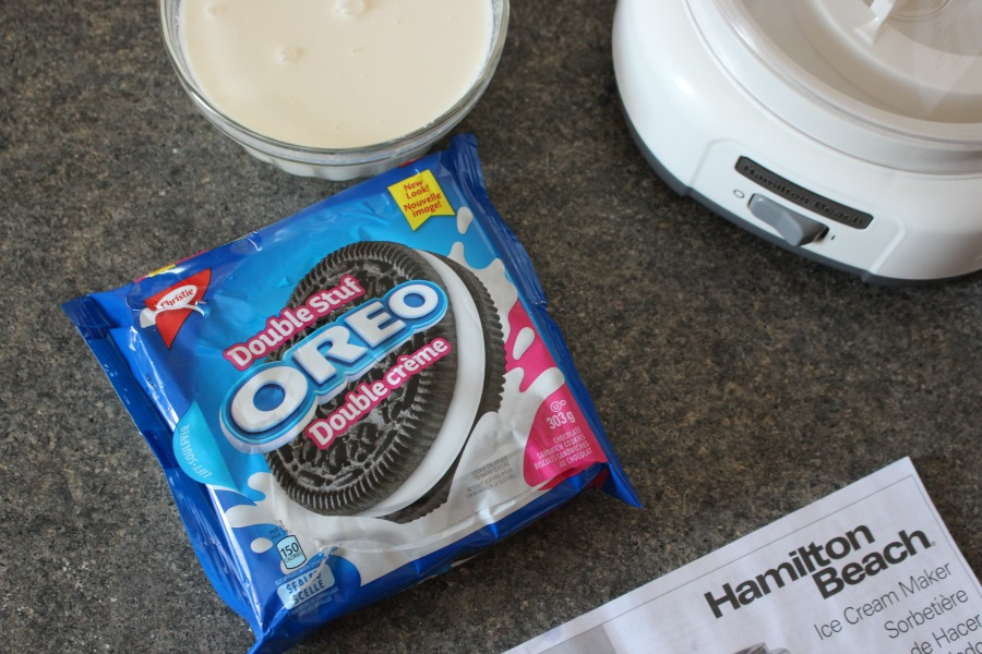 Easy Homemade Oreo Ice Cream Recipe - Hamilton Beach Ice Cream Maker