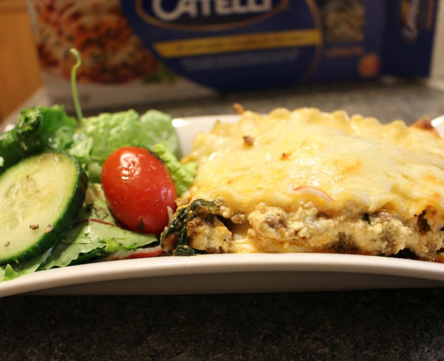 Hearty Spinach Lasagna Recipe