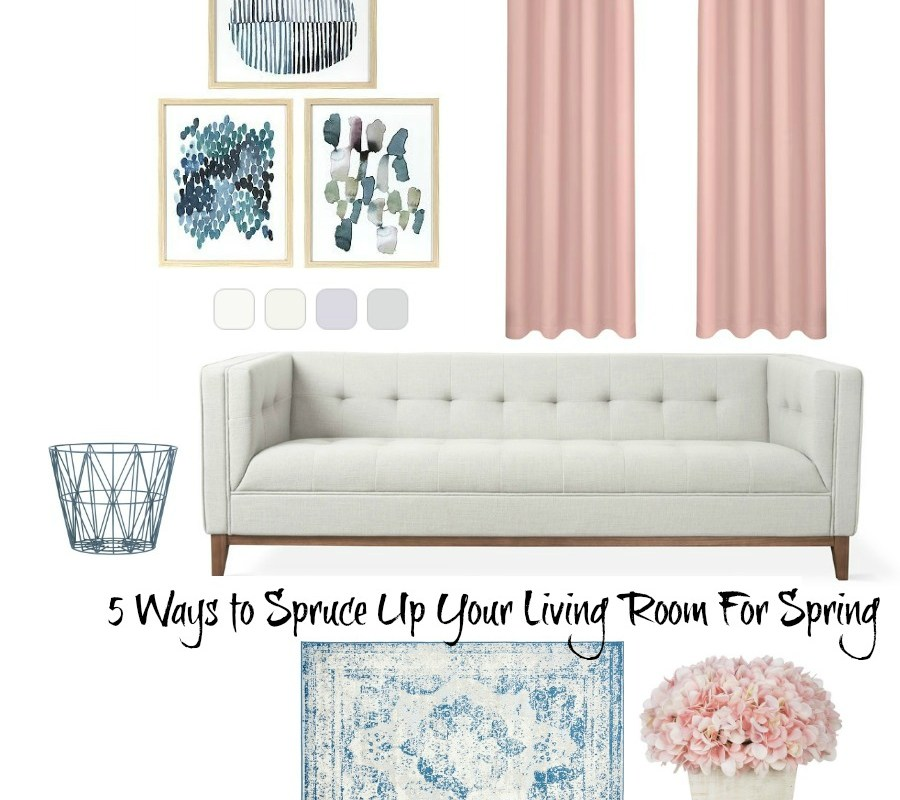 5 Ways to Spruce Up Your Living Room For Spring