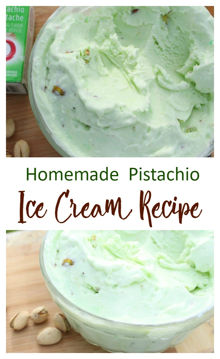 The Only Homemade Pistachio Ice Cream Recipe You'll Ever Need