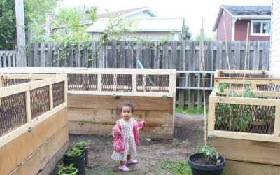 Grateful Sunday: Raised Garden Beds & Prepping For The Summer