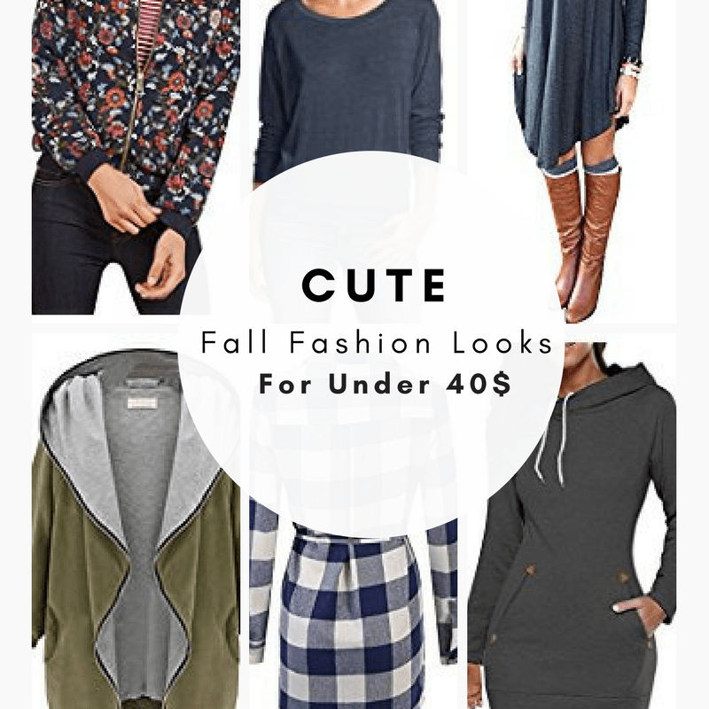 Cute Fall Fashion Looks For Under 40$