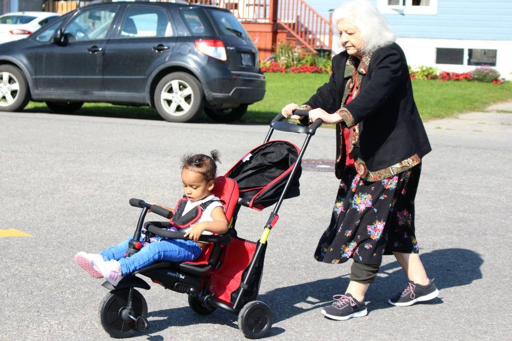 Celebrating Grandparent's Day With Grandma