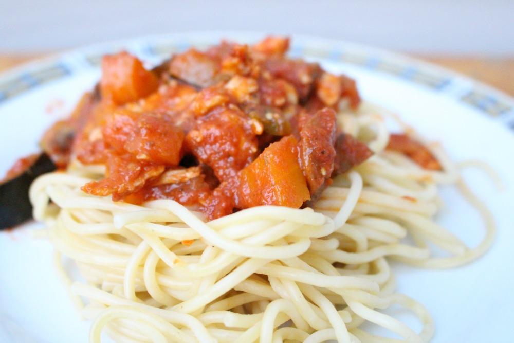 Homemade Chunky Tomato Sauce Recipe