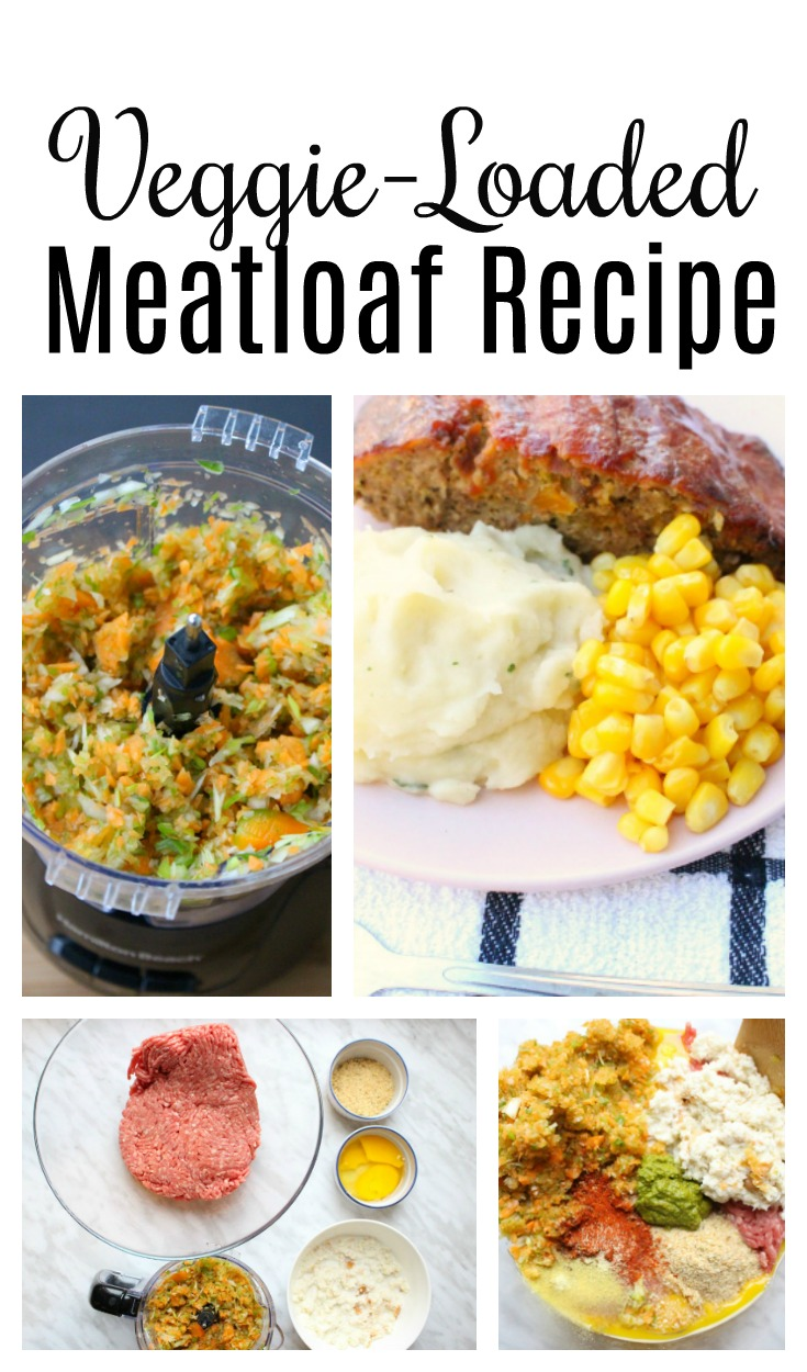Veggie-Loaded Meatloaf Recipe