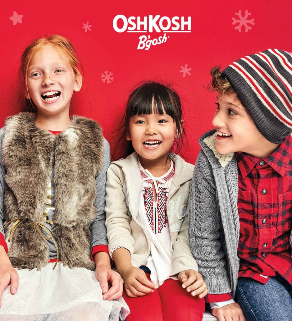 OshKosh Holiday 2017 Giveaway and Coupon