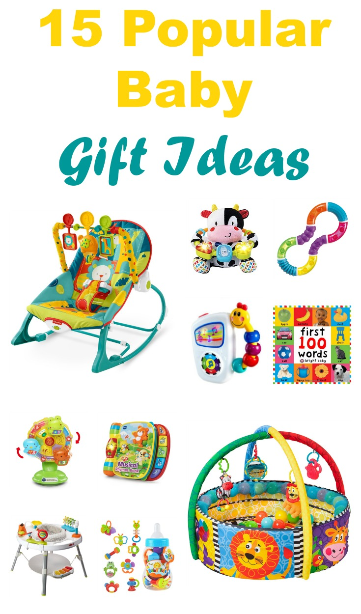 Top 15 Popular Baby Gift Ideas + Stocking Stuffers