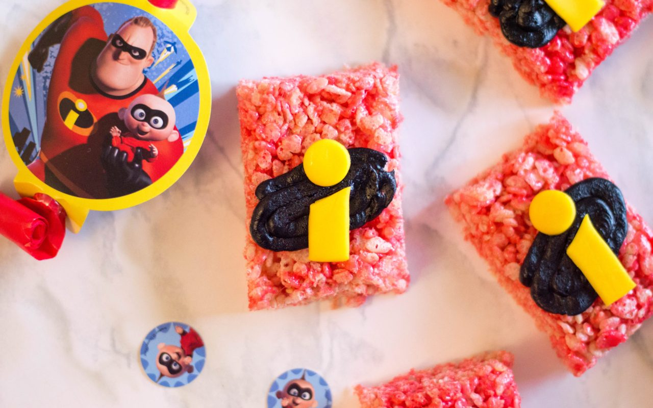 Disney Pixar's: The Incredibles 2 Rice Cereal Treats Recipe