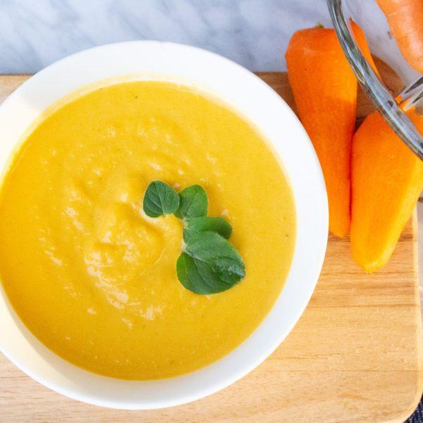 Easy Creamy Carrot Soup Recipe