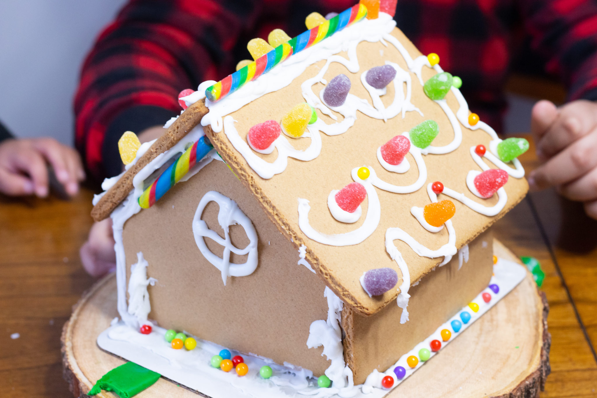 Creating Christmas Memories | Gingerbread House