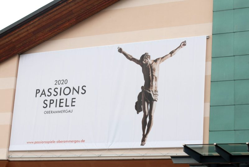 Passionstheater Passionsspiele Passionplay Oberammergau 2020