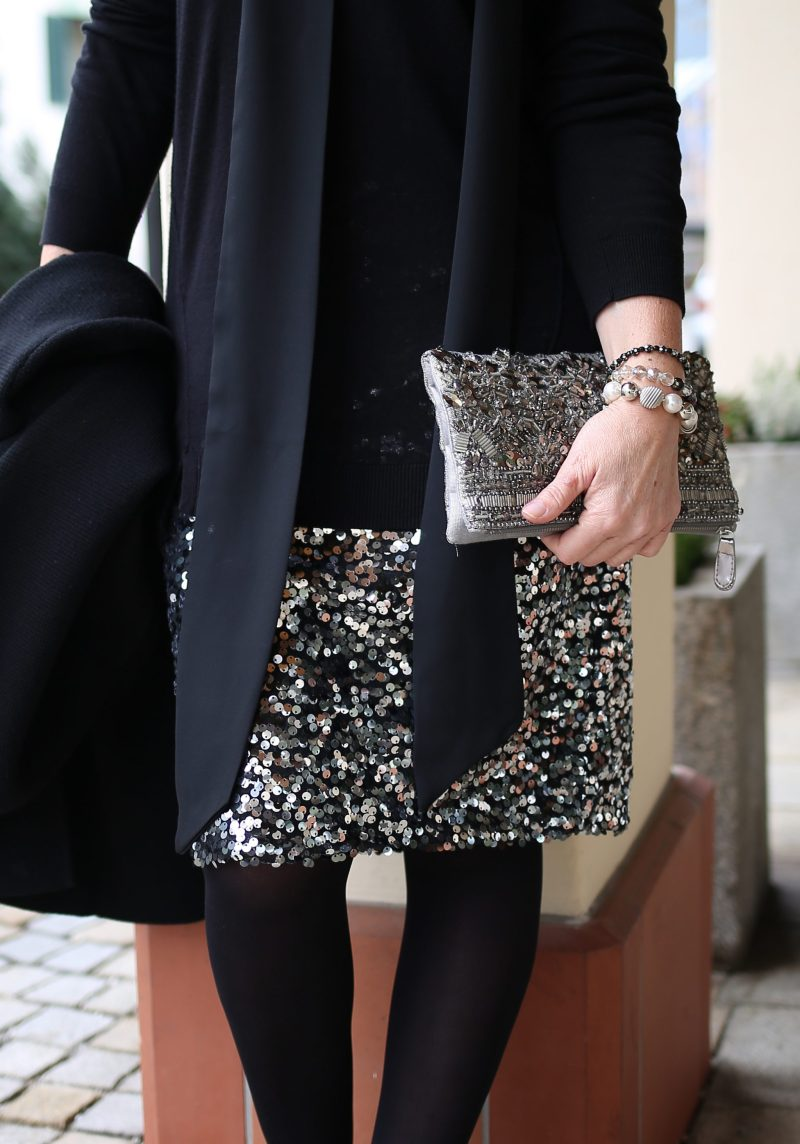 Weihnachtsparty Christmasparty Sequins LadyofStyle