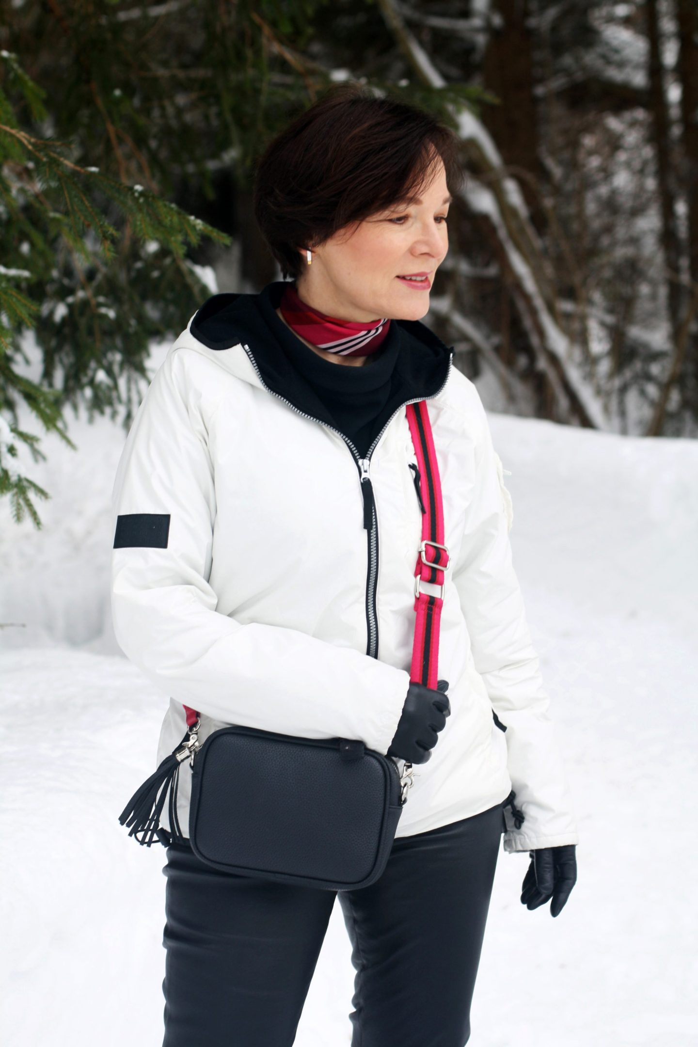 Winter Schnee Bayern Outdoors Anorak 50plus Blogger LadyofStyle