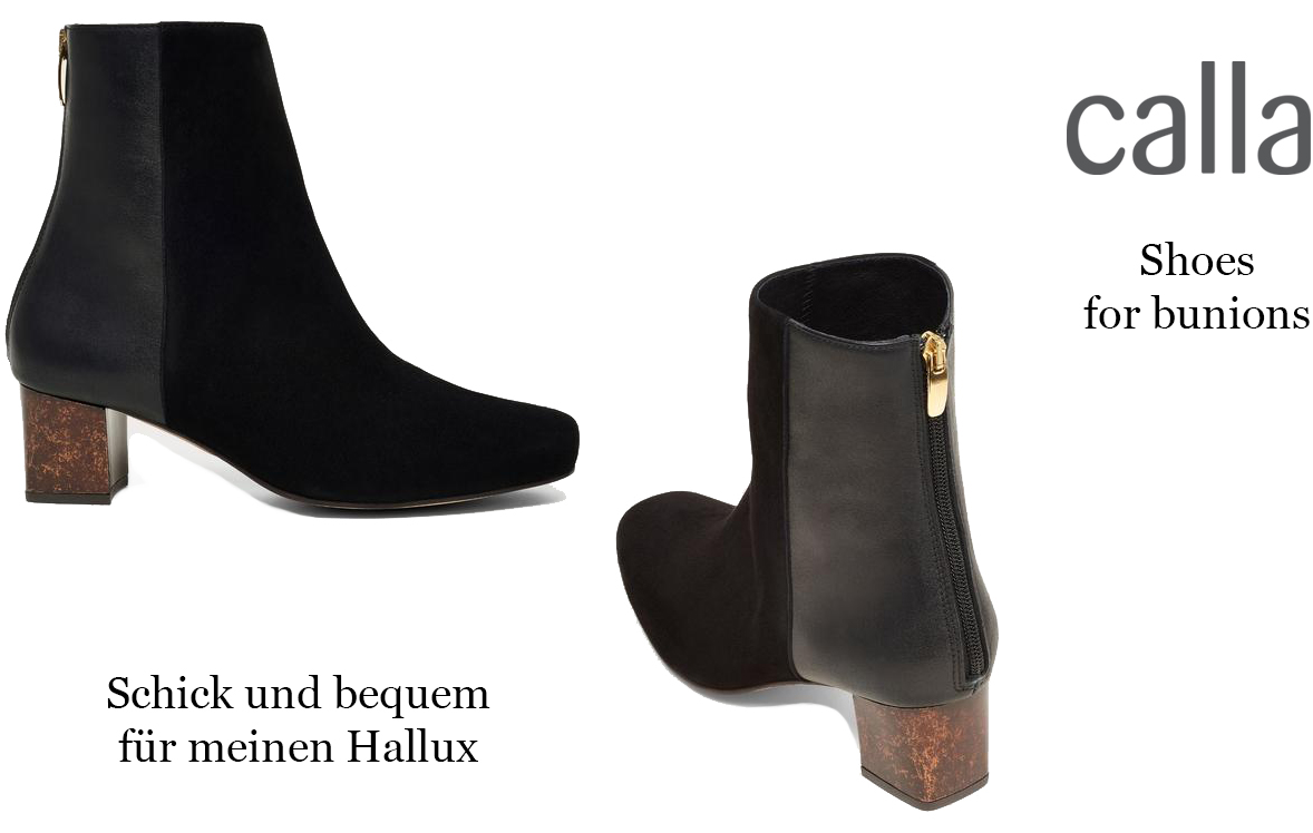 LadyofStyle calla shoes Hallux Bunions Stiefeletten 50plus