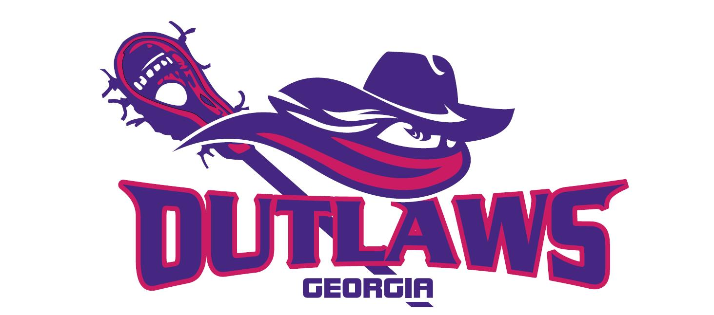 hight resolution of lady outlaws lacrosse logo