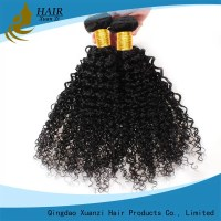 Real Short Curly Hair Extensions , Deep Wave Human ...