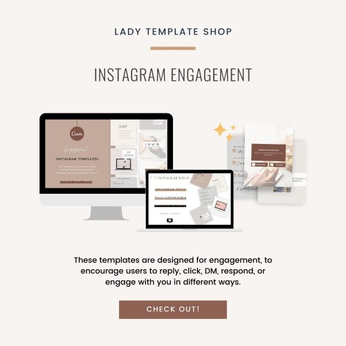 Instagram Engagement Templates