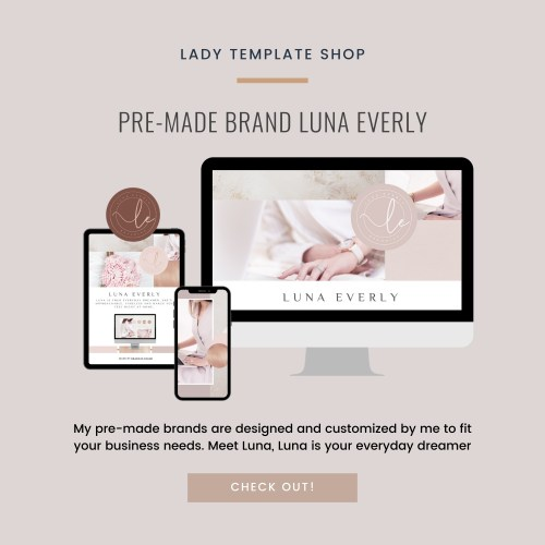 Pre-made brand Luna Everly