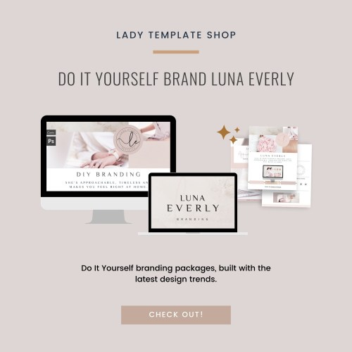 DO IT YOURSELF Brand Luna Everly