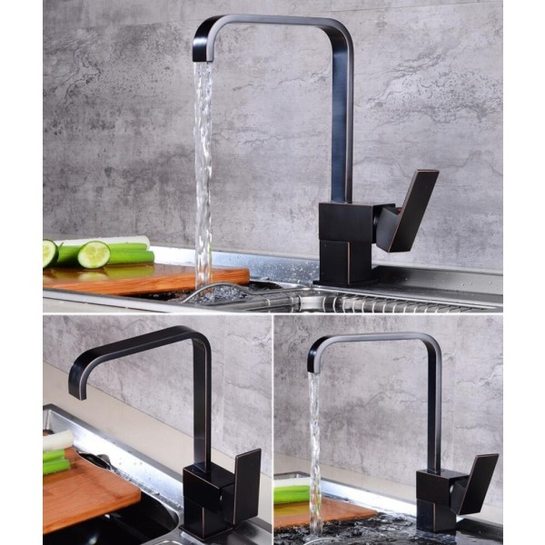 new kitchen faucets kitchen water tap antique black kitchen sink faucet single handle tall spout wash basin mixer taps lad 108