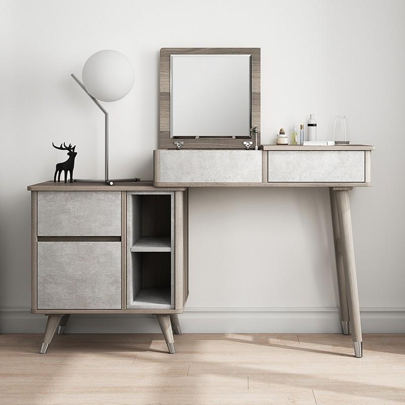 Luxury Modern Nordic Small/Large Makeup Vanity Table ...