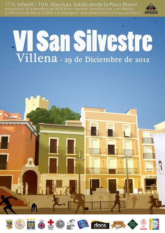 VI San Silvestre Villenera - 29-12-2012