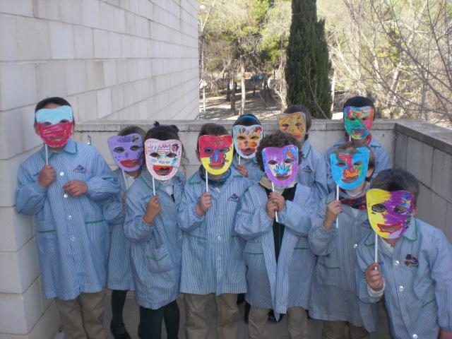 Máscaras en infantil