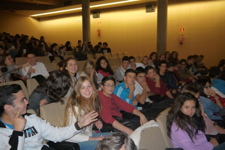 Los alumnos de 3º de ESO en Ciudad Ciencia