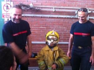 Visita Parque de bomberos de Villena