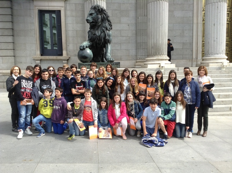 1º y 2º de ESO visitan Madrid