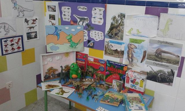 Dinolandia, un proyecto sobre dinosaurios en 4 años